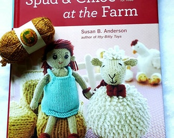 SALE! 2011 Spud & Chloe at the Farm Hardcover Book with a Story for Kids!