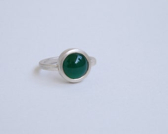 Ring 925 Silver, agate