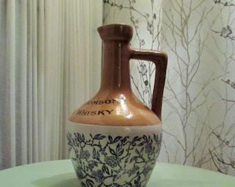antique ceramic Stag Whisky  jug