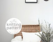 Pattern / Ozetta Knitting Chunky Blanket Pattern Instant Download For The Grand Teton Blanket