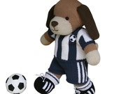 Football Kit - Knit a Teddy