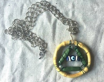 All Seeing Eye Necklace - Evil Eye Necklace - Eye of Providence Necklace - Illuminati Necklace - Third Eye Necklace - Triangle Jewelry