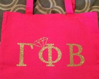Gamma Phi Beta Engaged Tote Bag
