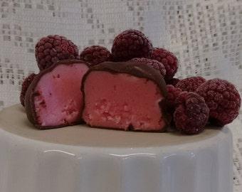 Hand Dipped Raspberry Chocolates