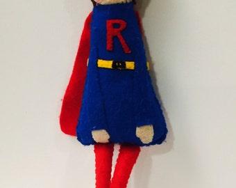 PDF PATTERN: A Splendid Tale, Superhero Doll. Instant Download.