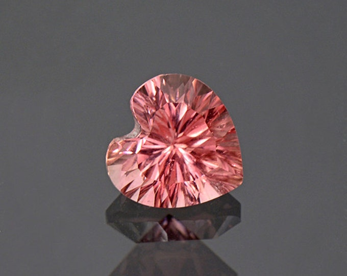 Bright Rose Pink Heart Tourmaline Gemstone from Afghanistan 2.05 cts