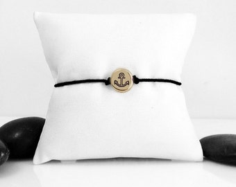 Anchor Bracelet, Nautical Bracelet, Anchor Jewelry, Anchor, Friendship Bracelet, Nautical, Nautical Jewelry, Anchor Charm, Beach, B247CB