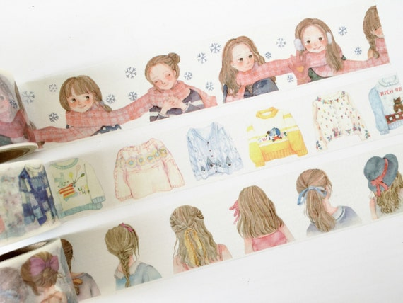 Cute Washi Tape Girly Things Wide Washi Tape By Papergeekco