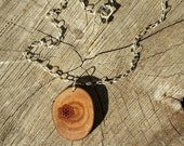 Madrone Branch Seed of Life Necklace - Sacred Geometry - Northern CA Sacred Forest Art