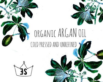 Organic Argan Oil | Cold Pressed Argan Oil | Unrefined Argan Oil | Pure Argan Oil | Natural Argan Oil | 100% Argan Oil