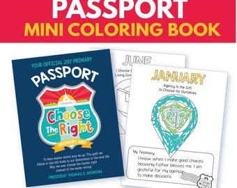 "2017 ""Choose the Right Passport"" Mini Coloring Book"
