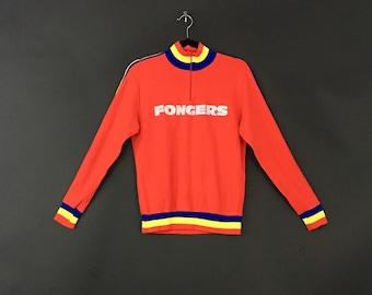 "Vintage ""Fongers"" Belgian Bicycle Sweater"
