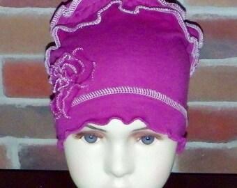 Handmade chemo (chemotherapy)  hats/caps for girls (children)