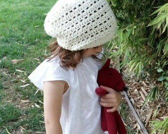 Cade Cap, Slouchy Beanie, Women Crochet Hat, Slouchy Hat, kids hat, Boys Beanie, Cade Cap,