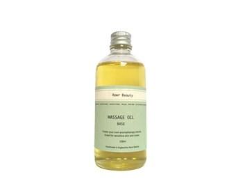 Organic Massage Oil Base | 100% Organic Oil | Organic Massage Oil | Vegan Friendly | Cruelty Free | 100ml