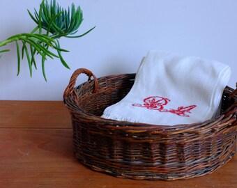 Basket shelf, basket, cane, straw, Wicker, rattan, handles