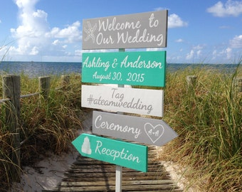 Welcome Wedding Sign, Beach Wedding Decor, Shoes Optional Ceremony Sign, Wedding Gift For Couple