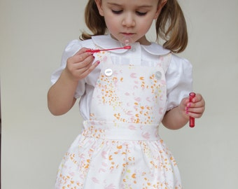 Bella Pinafore Dress