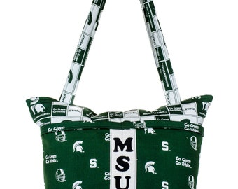 Diaper Bag, Michigan State University, MSU Spartans, Spartan Baby, Baby Shower Gift, Unique Baby Gift, Gift for Him, New Dad Gift, Baby Bag