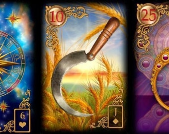 LENORMAND PSYCHIC TAROT Reading  -Indepth Same Day Accurate Reading -Love Career Finance Same Day by Email