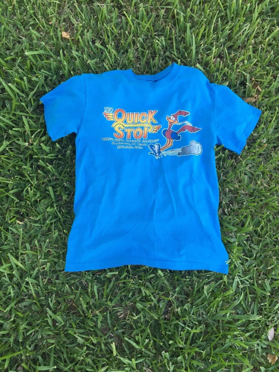 Vintage Blue Quick Stop Road Runner Tee