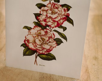 Camellia Stationery by Widely Acclaimed Artist Louise Estes