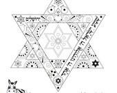 Star of David-Jewish Prin...