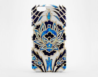 iPhone 8 Case Morocco iPhone X Case iPhone 6 7 Plus Case iPhone 8 Blue Flower Phone Case iPhone 5 Gold iPhone 6 iPhone 4 Case Galaxy S7 S8