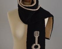 Knit Guitar Scarf Music Scarf