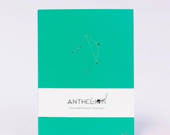 Libra Zodiac Sign Pantone Inspired Constellation Journal