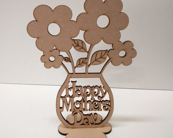 Happy mothers day flower pot