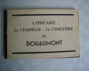 Mini booklet postcards, 1914-1918, Douaumont cemetery / Verdun, France