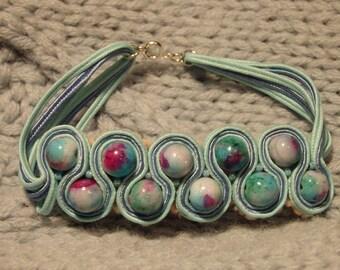 Bracelet soutache - Jewelry - Personalized