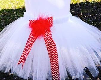 Candy Cane Tutu Skirt