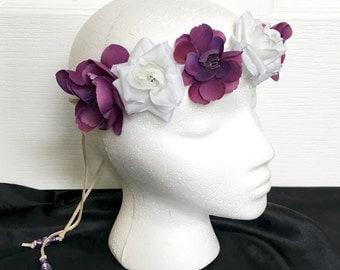 Flower Headband - EDC - Festival coachella Headband -