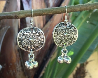 Bohohemian Turkish Chandelier Drop Earrings