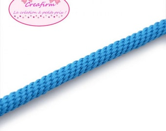 4 m braided rope 5mm blue
