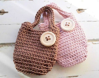 Baby Bag/ Bags for Girls/ Knitted Bags/ Rope Bags/ Handmade Bags/ Crochet Bags/ Tote/ For Kids/ Summer Handbags