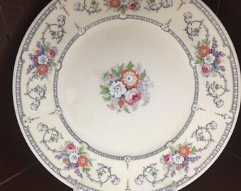 6 CAULDON ENGLAND VINTAGE China Dinner Plates