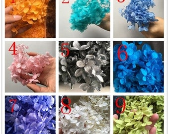 A pack (1 gram) Real Hydrangea /Hydrangea / Mini Dry Flowers /Real flowers/ Mini dried flowers