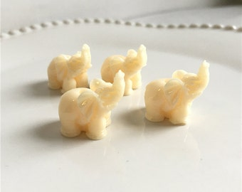 10pcs 15mm Resin Elephant Beads/Elephant /Animal Bead