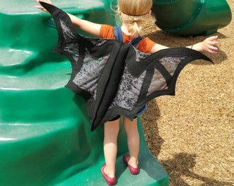 Bat Wings Costume Kids Ages 1 to Adult
