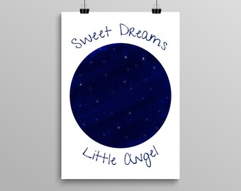 Sweet Dreams Little Angel Digital Download 8x10