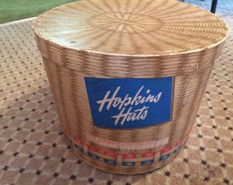 Vintage hopkins hats box