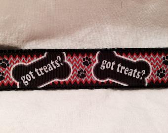 Got Treats? Collar