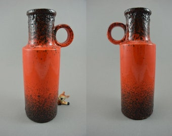 Vintage vase / Scheurich / 401 28   West Germany   WGP   60s