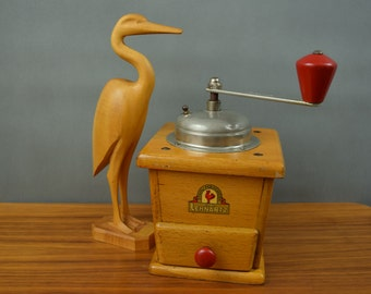 Vintage coffee grinder coffee mill by PeDe, Peter Dienes / Germany