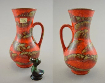 Vintage vase made by Carstens Toennieshof / 6014 20 | West German Pottery | 60s
