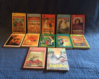 12 Vintage Beverly Cleary Book Collection