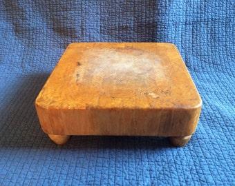 Vintage Butch-R-Block/Butcher Block/Vintage Cutting Board